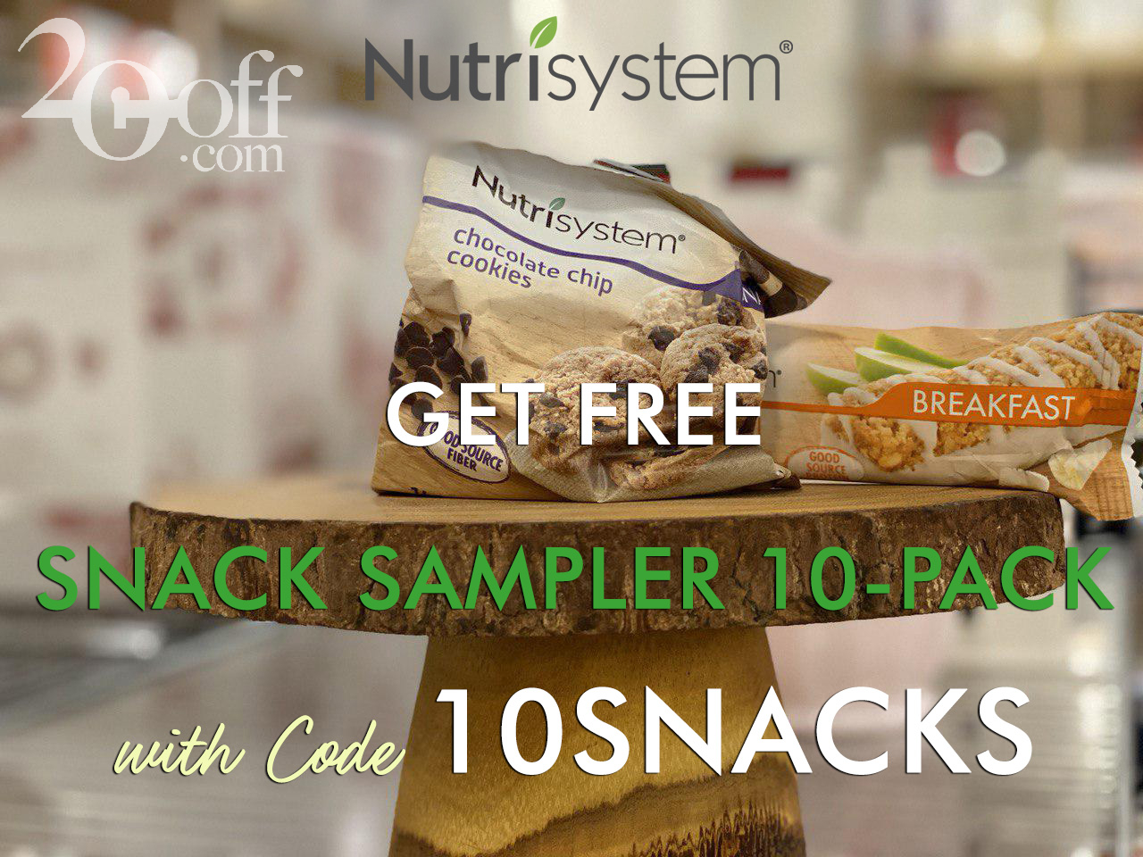Nutrisystem Free Snacks Coupon