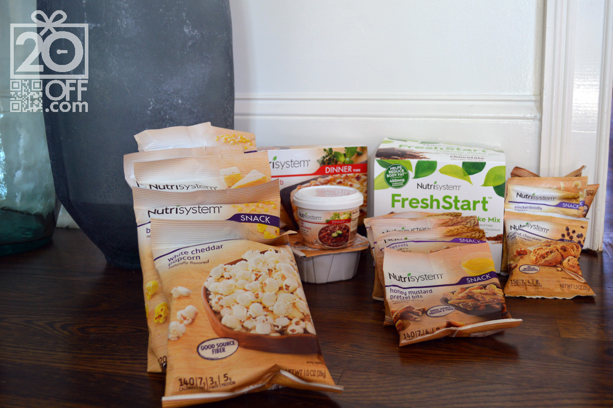Nutrisystem Fresh Start Menu for Men