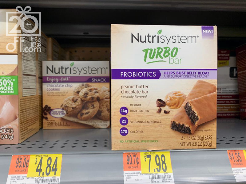 Nutrisystem Turbo Bar