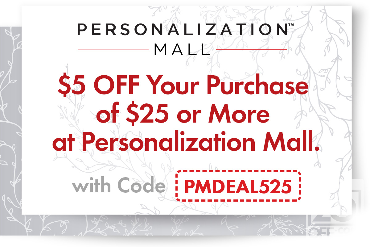 Personalization Mall 20off Coupon