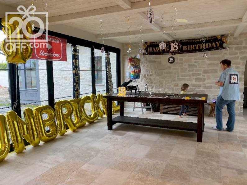 Personalized 18th Birthday Decorations
