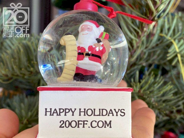 Personalized Christmas Ornaments Promo 20off