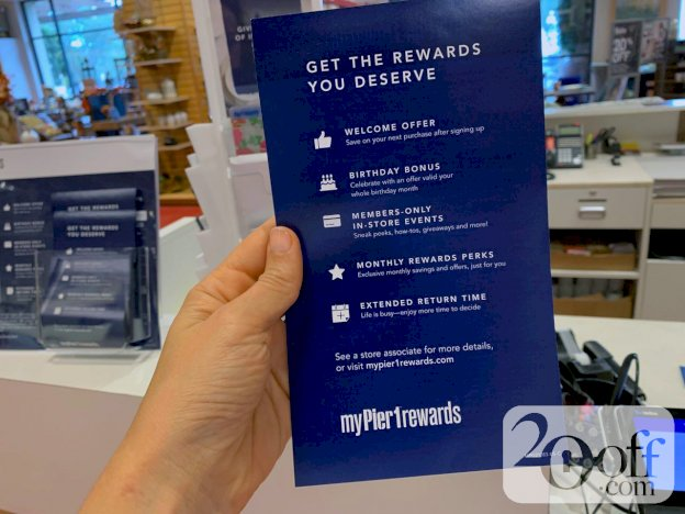 Pier One - Get The Rewards You Deserve