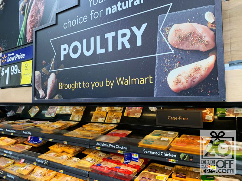 Poultry at Walmart