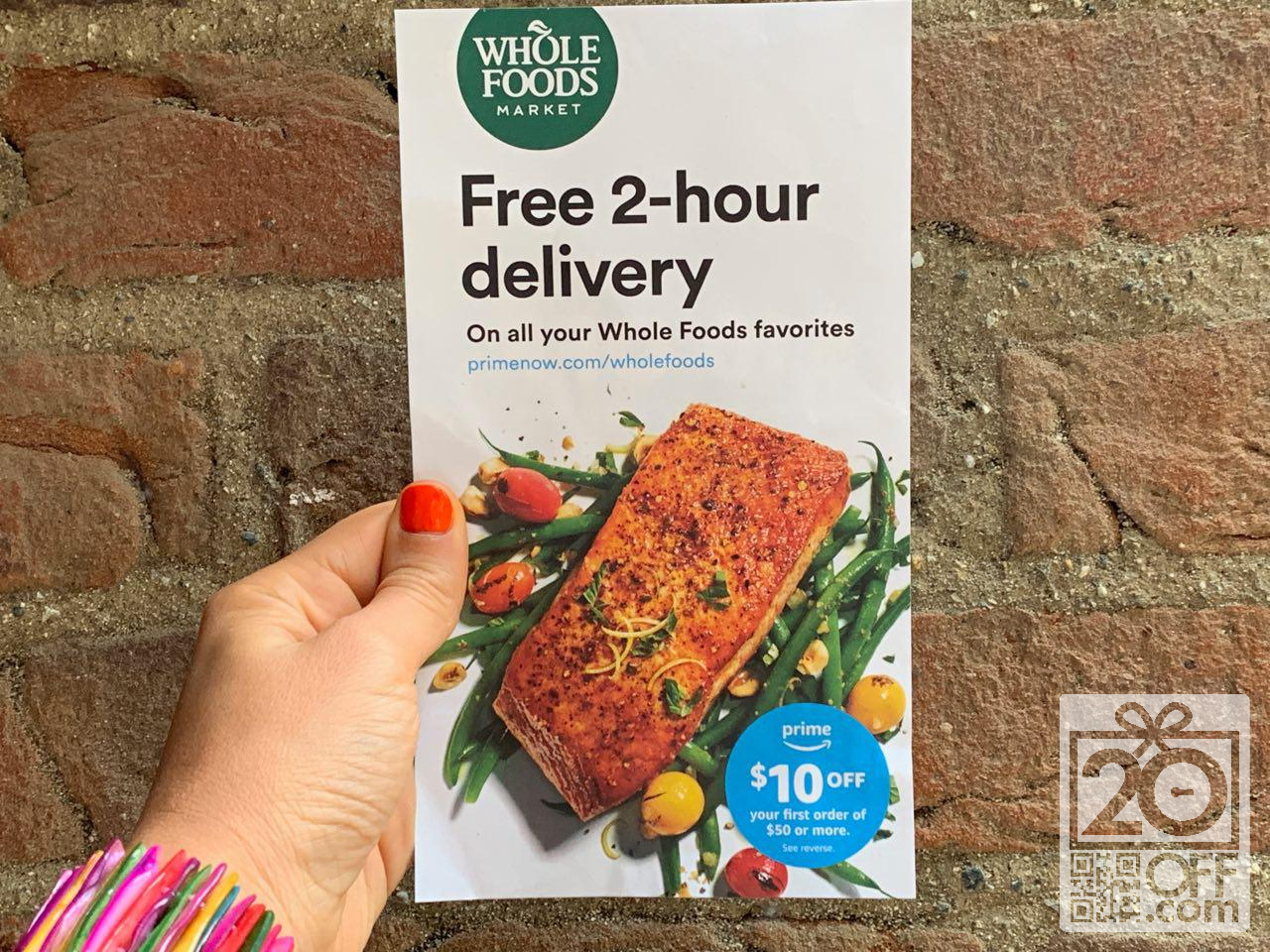 Prime Whole Foods Free Delivery