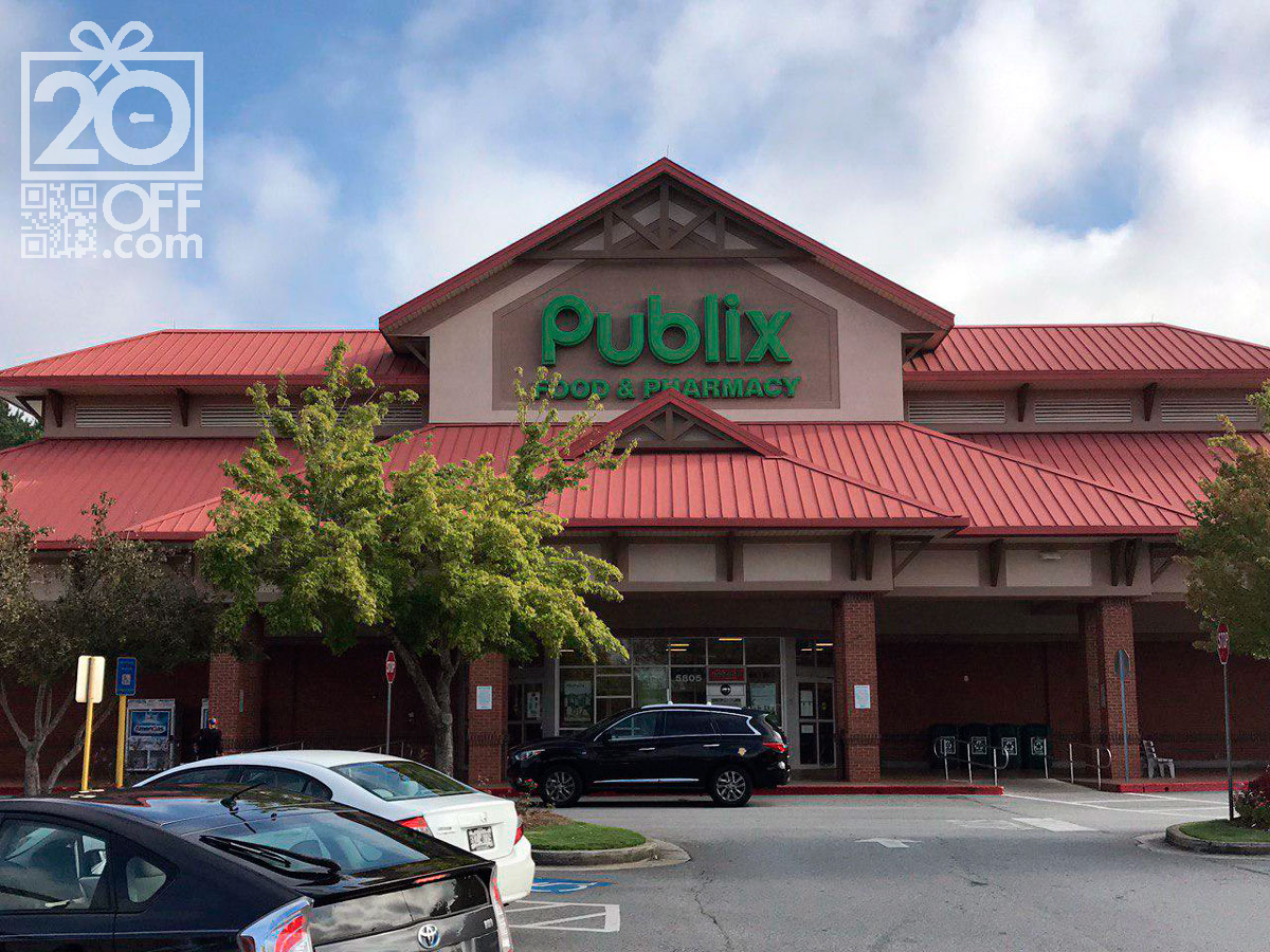 Publix Coupon 20off