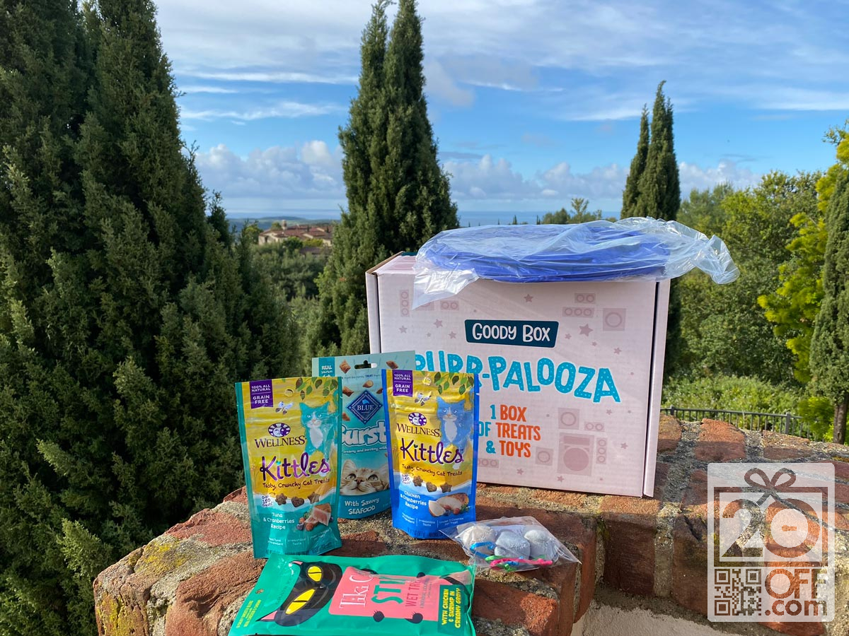 Purr-Palooza Cat Subscription Box from Chewy