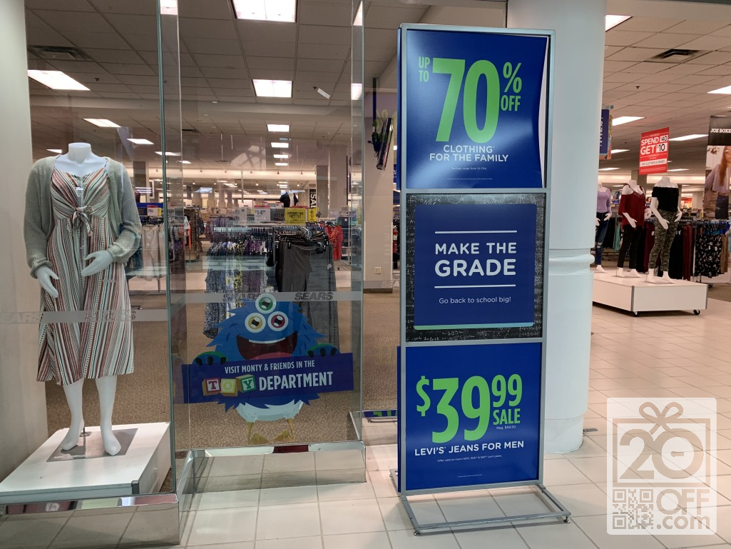Sears 70% OFF Clothing buy Family