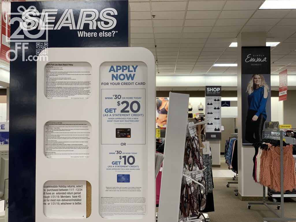 Sears Cashback for You