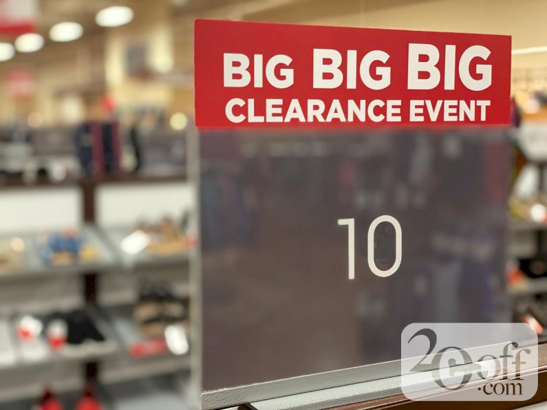 Sierra Site Wide Clearance Sale
