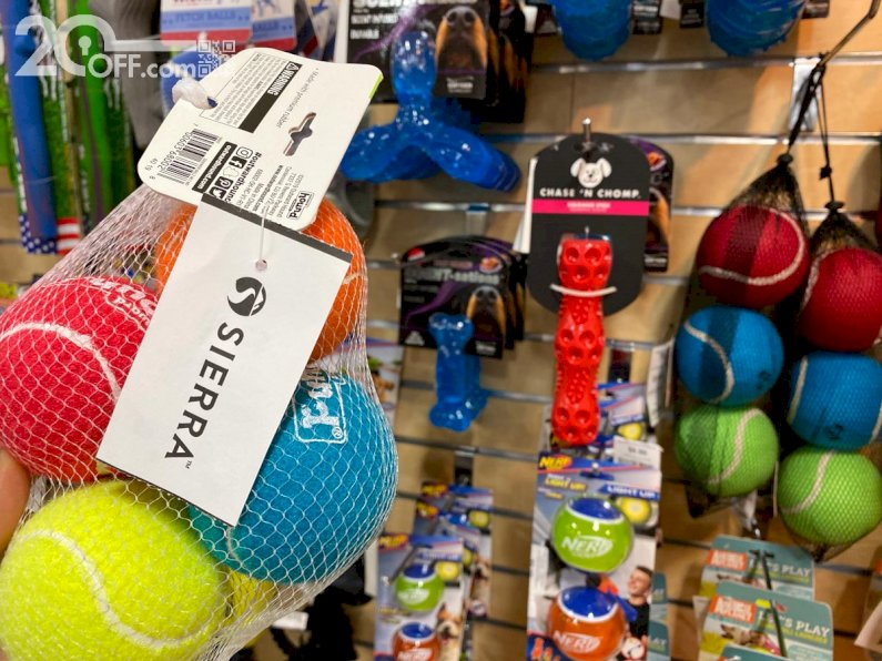 Sierra Tennis Balls for Dogs