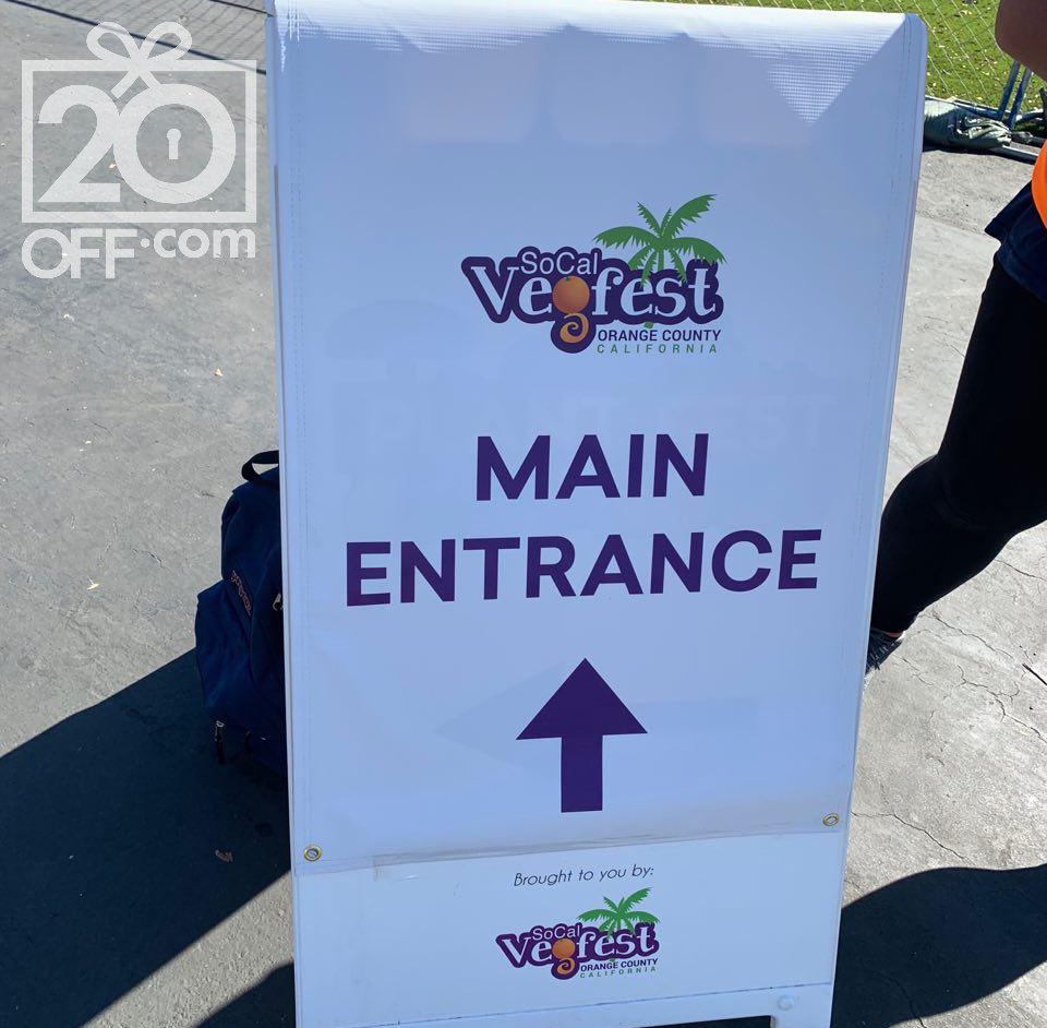 SoCal Vegan Fest Groupon Pass