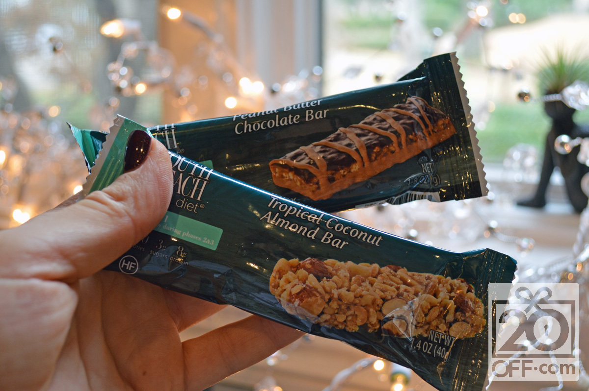 South Beach Diet Bars