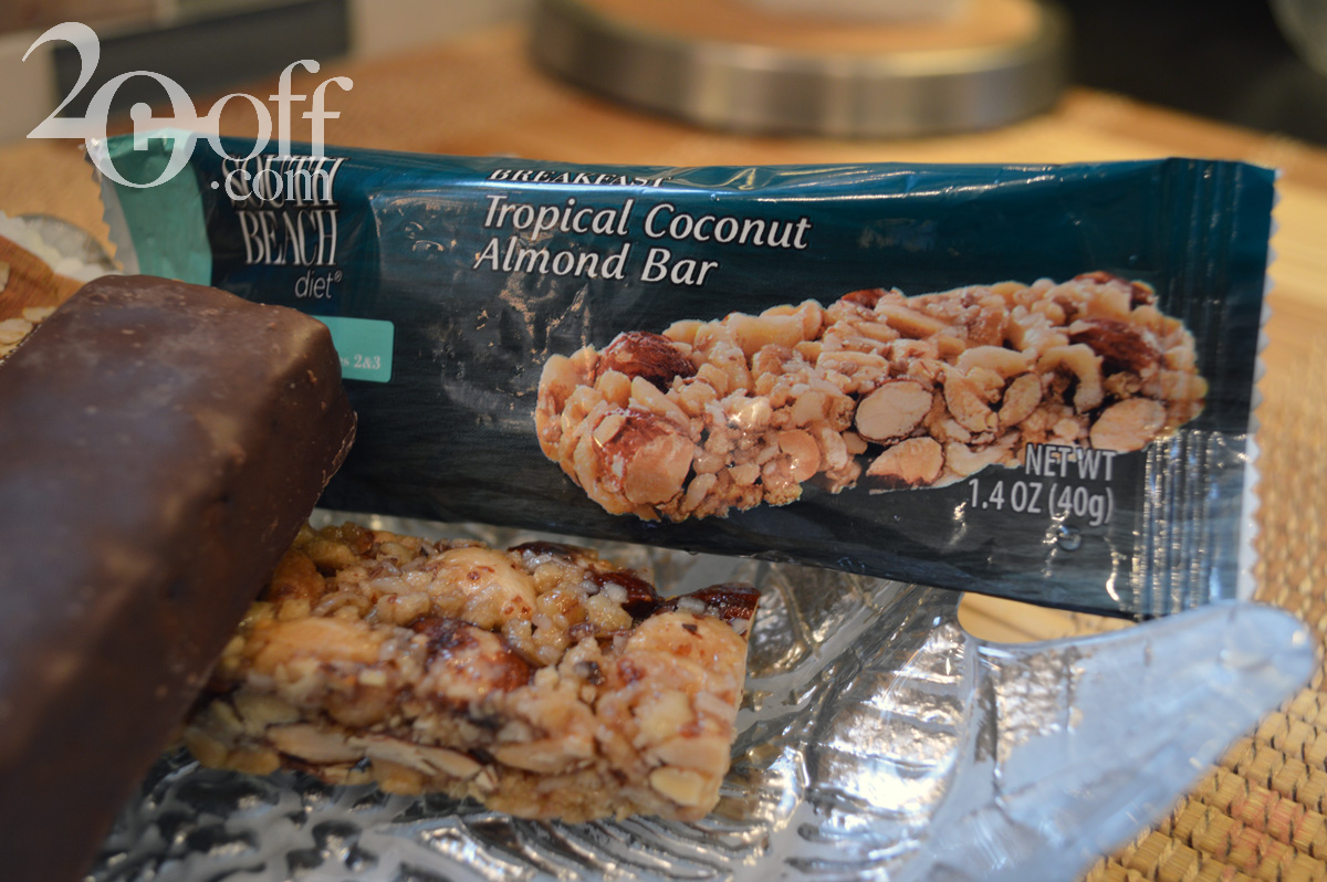 South Beach Diet Tropical Almond Bar