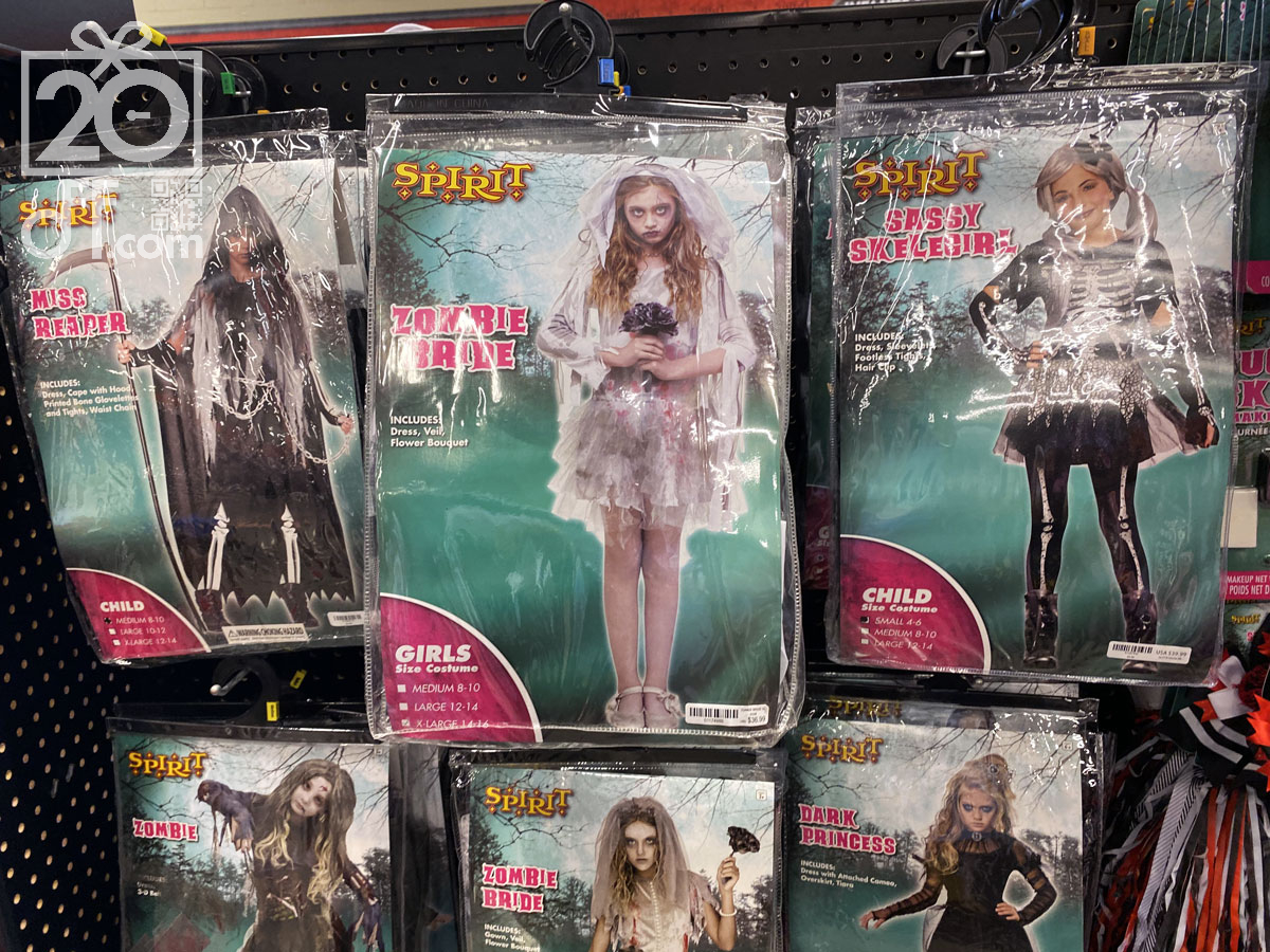 Spirit Halloween Girls Costumes
