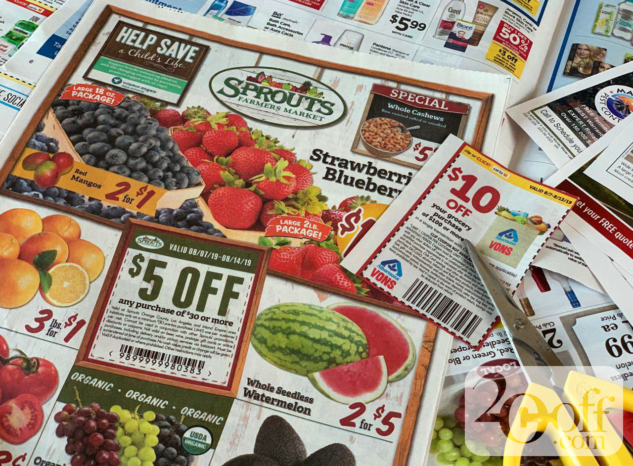 Sprouts Manufacturer Coupons