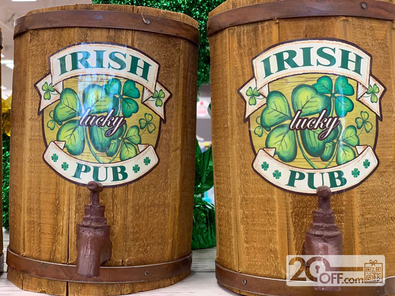St. Patrick's drinks specials