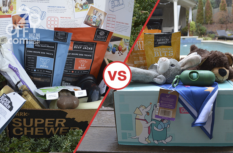Super Chewer vs. Chewy's Puppy Box