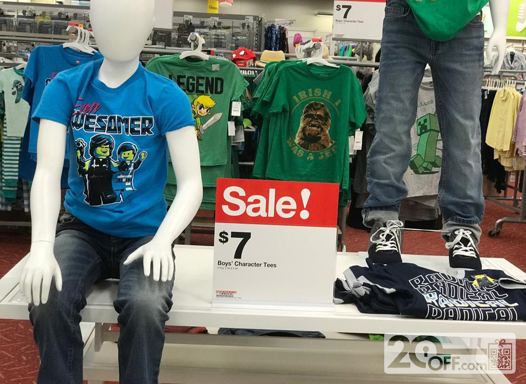Target Boy's Clothes On Sale