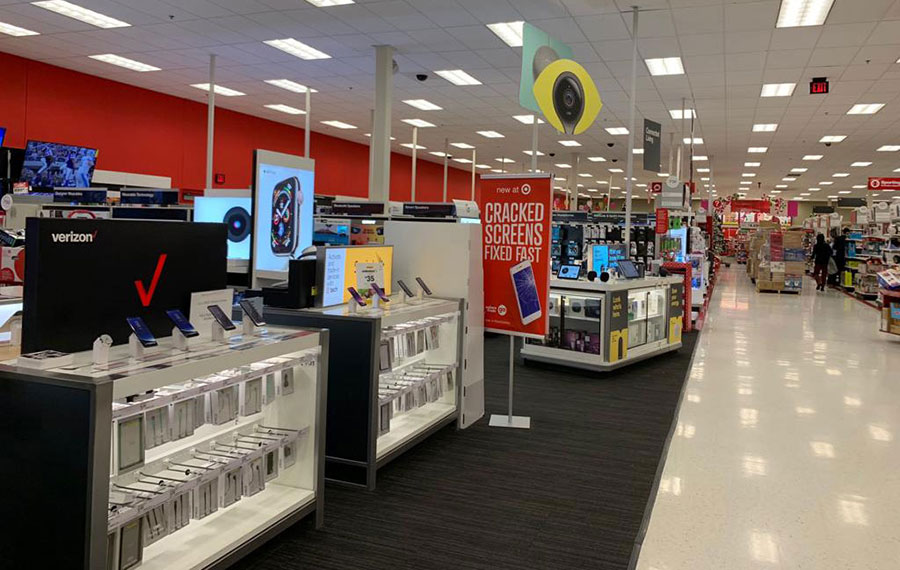 Target phones and electronics