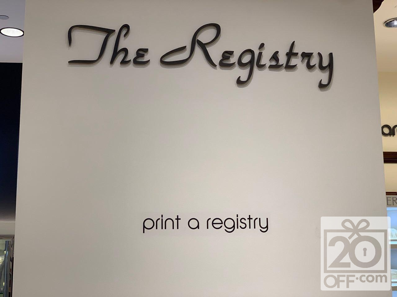 The Registry Bloomingdales
