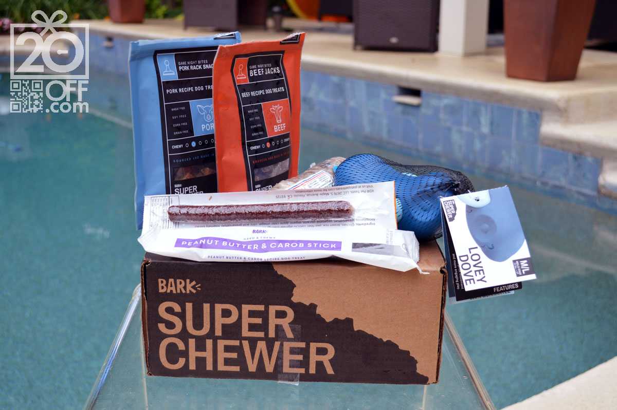 Top Items from Super Chewer