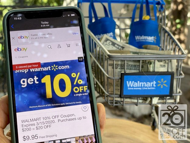 Walmart 10% OFF Coupon