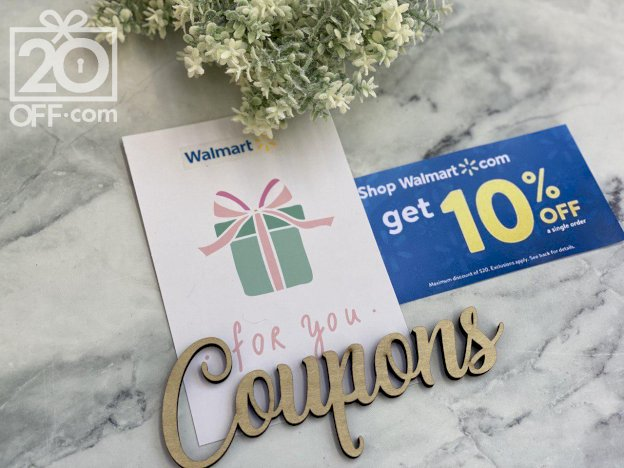 Walmart 10% OFF Coupons