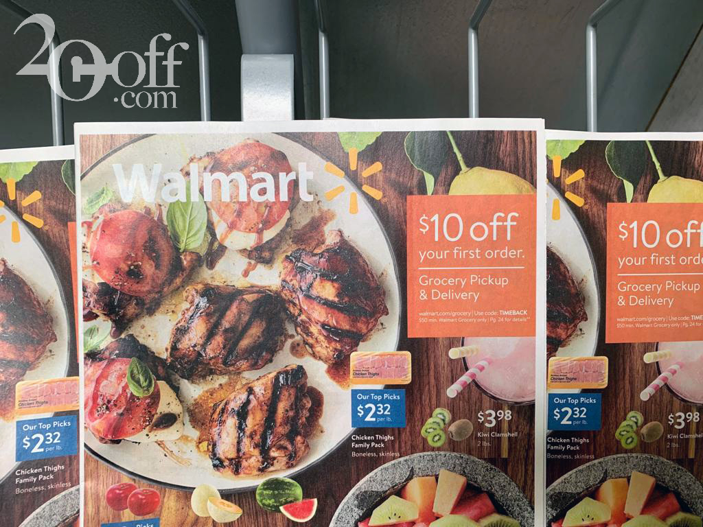 Walmart $10 OFFf Grocery Coupon