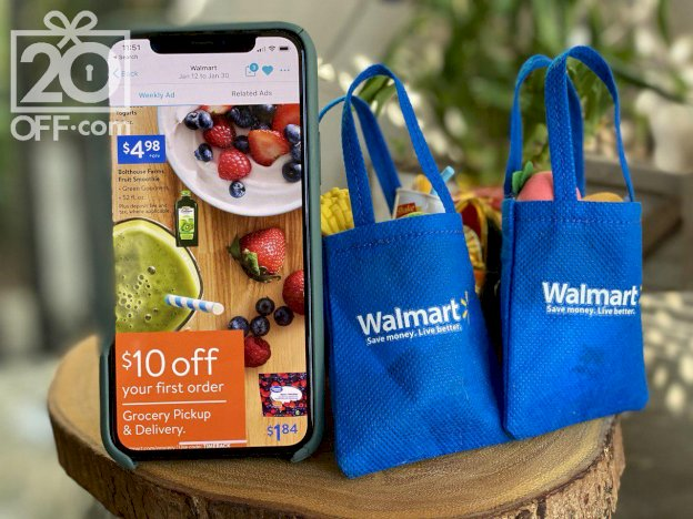 Walmart $10 OFF Grocery Discount