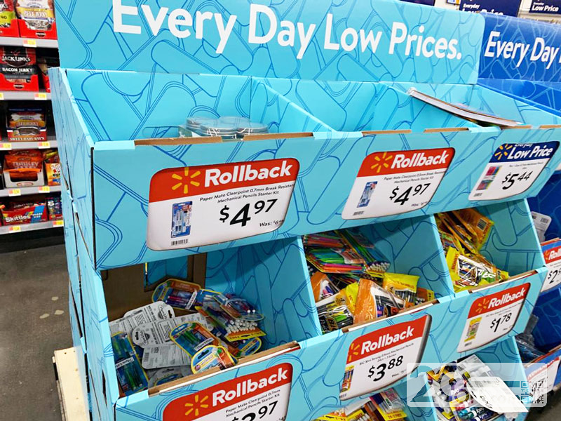 Walmart Back to School Rollbacks