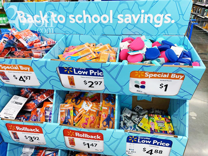 Walmart Back to School Savings