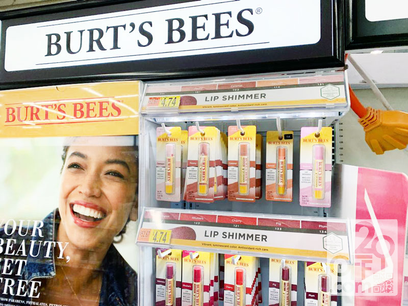 Walmart Burts Bees Beauty