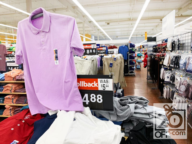 Walmart Clothing Rollbacks