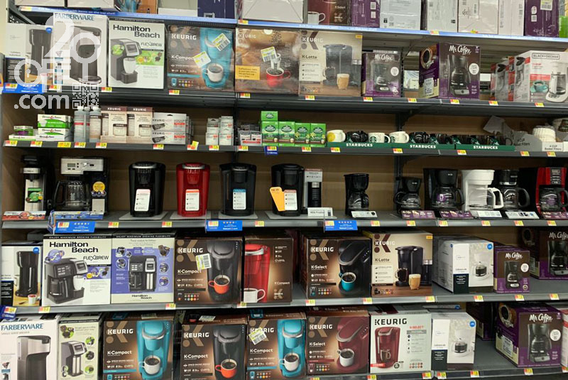 coffee makers at Walmart