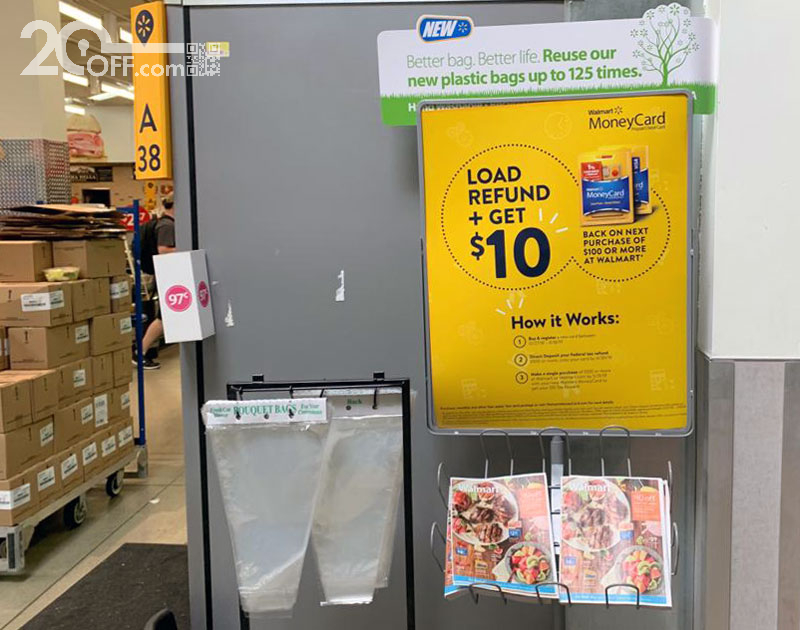 Walmart Coupon with MoneyCard
