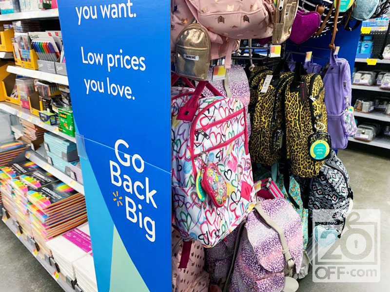 Walmart go Big Backpacks Deals