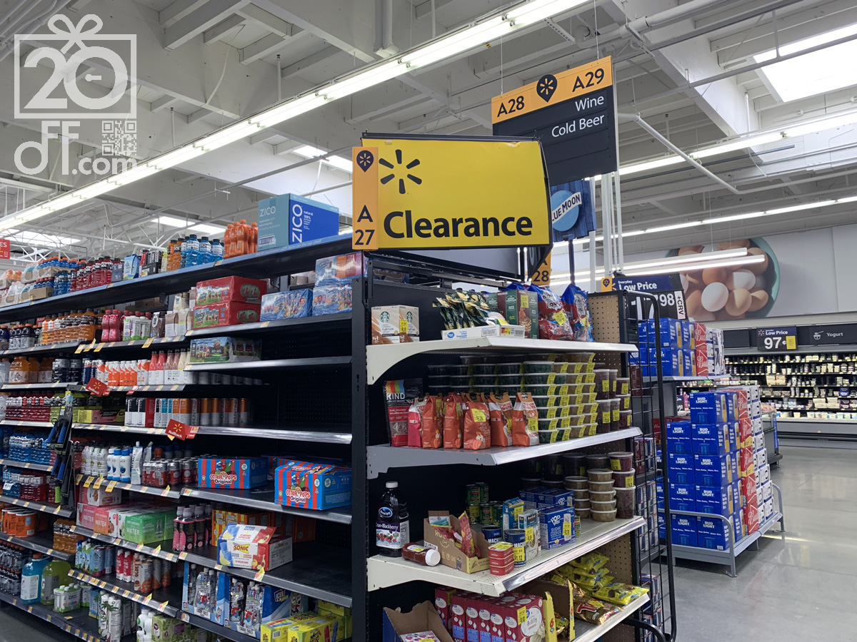 Walmart Grocery Clearance Offers