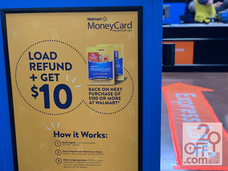 Walmart MoneyCard Offer