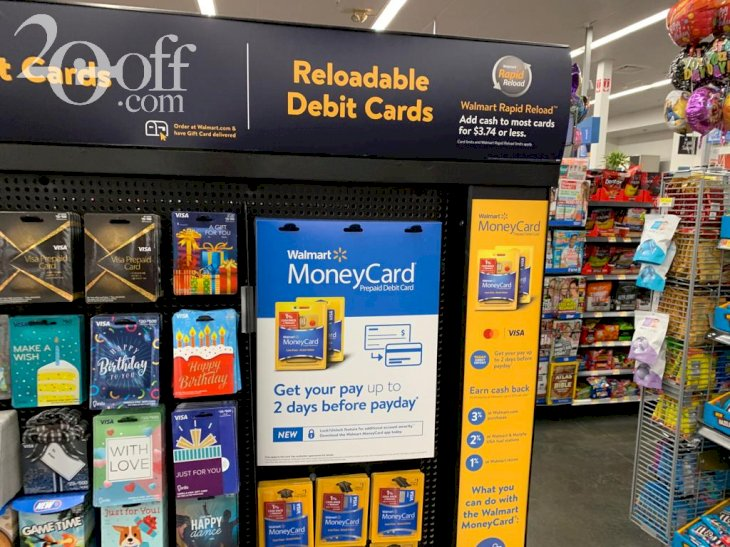 Walmart Reloadable Debit Card