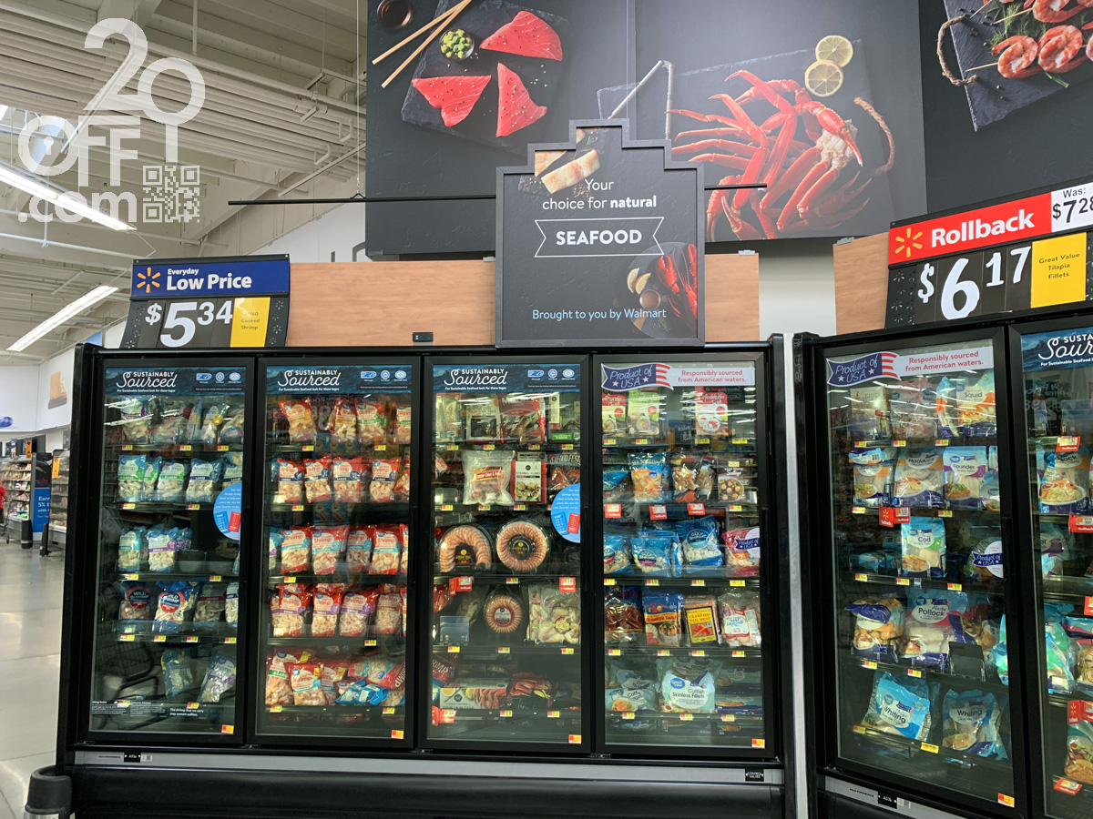 Walmart Seafood Discount