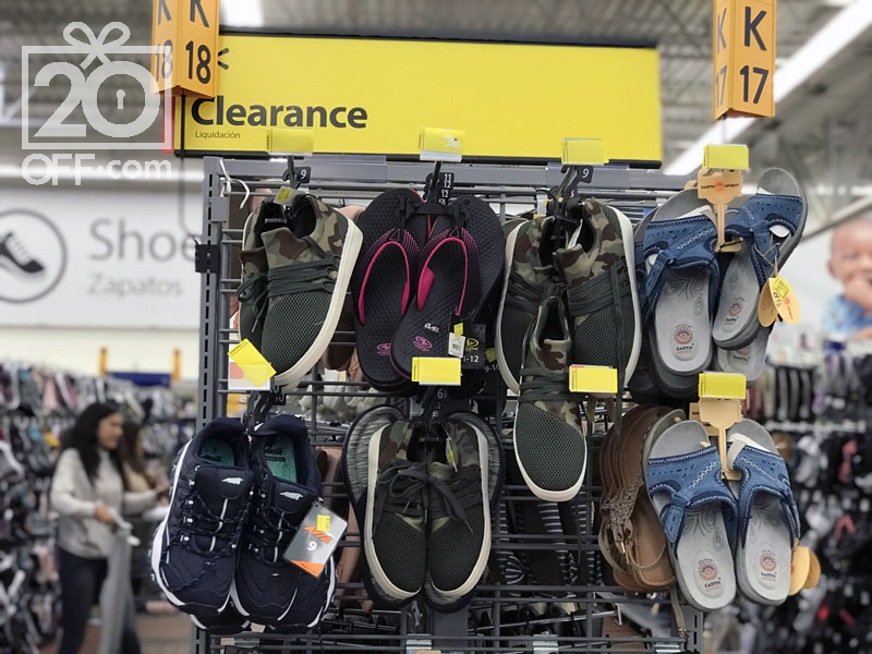 Walmart Shoes Clearance