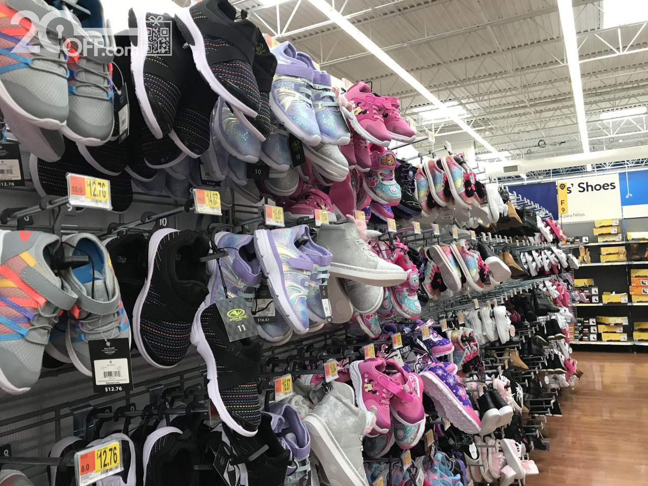 Walmart Shoes In Store