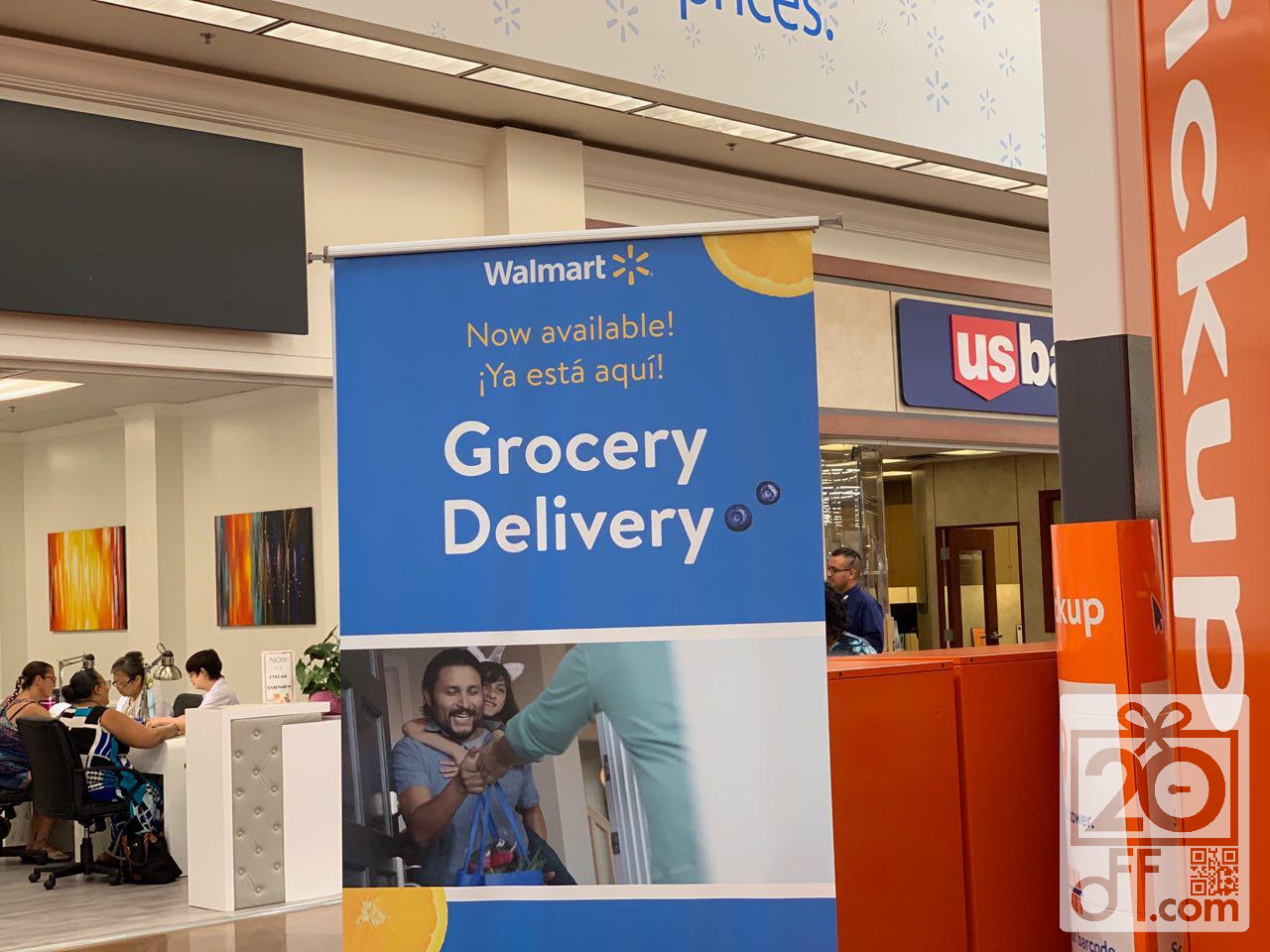 Walmart Store Grocery Delivery