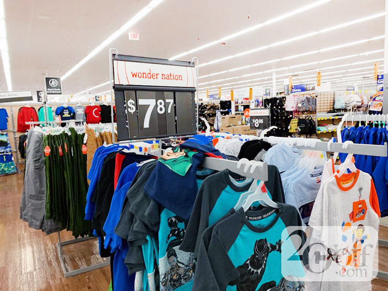 Walmart Wonder Nation Uniform on Clearance