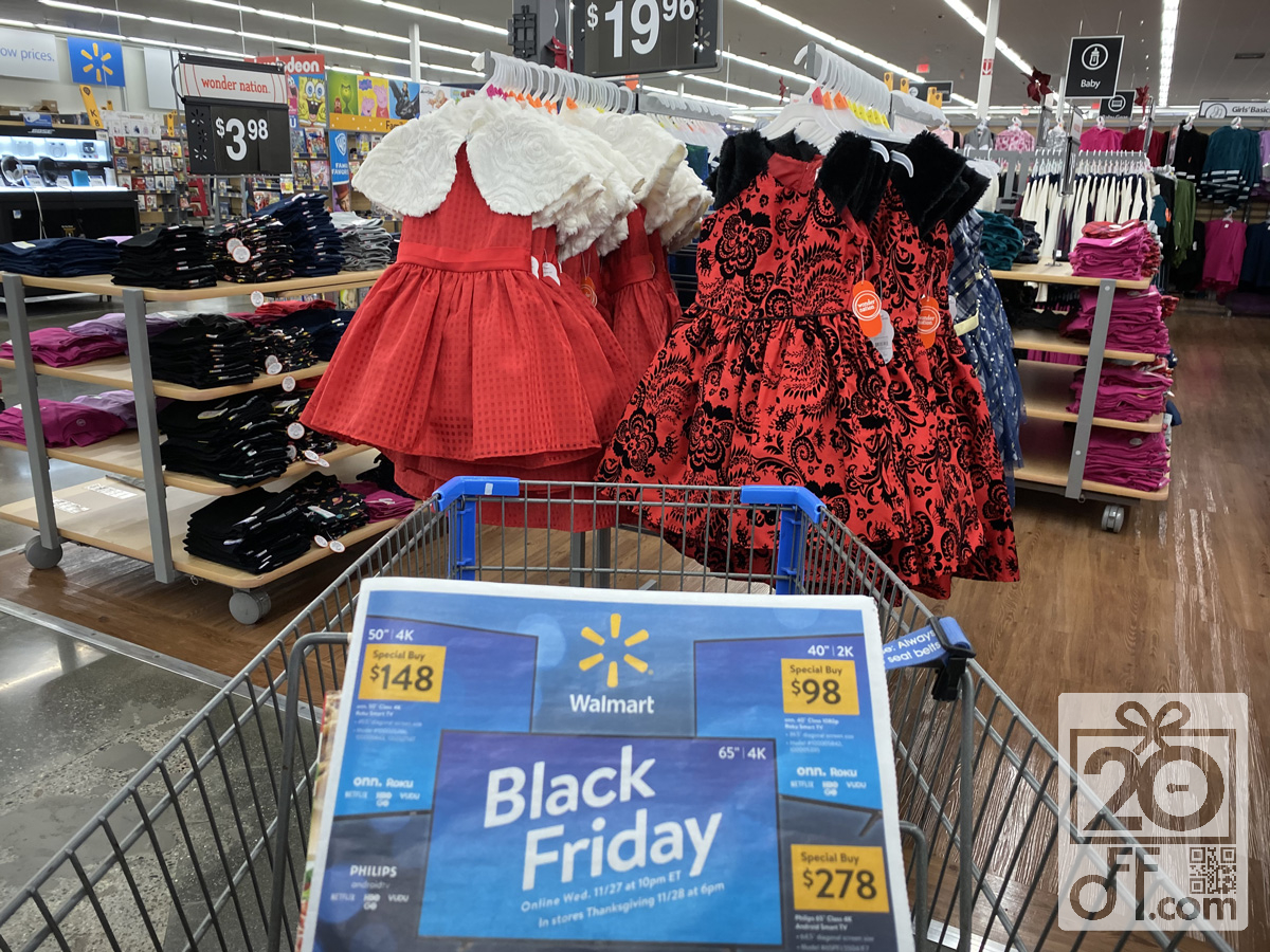 Walmart's clothing Black Friday Coupons