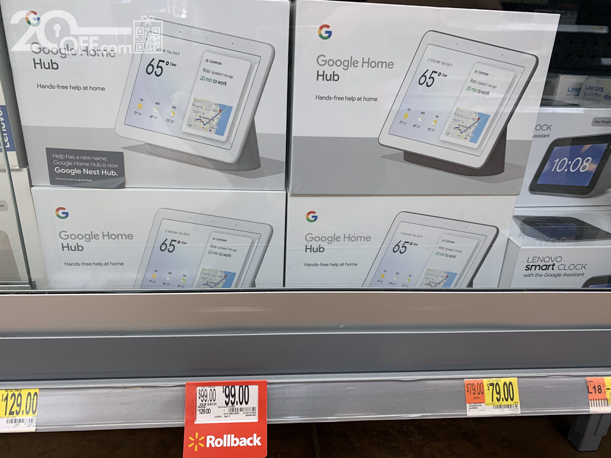 Walmart's Google Home Black Friday Discount