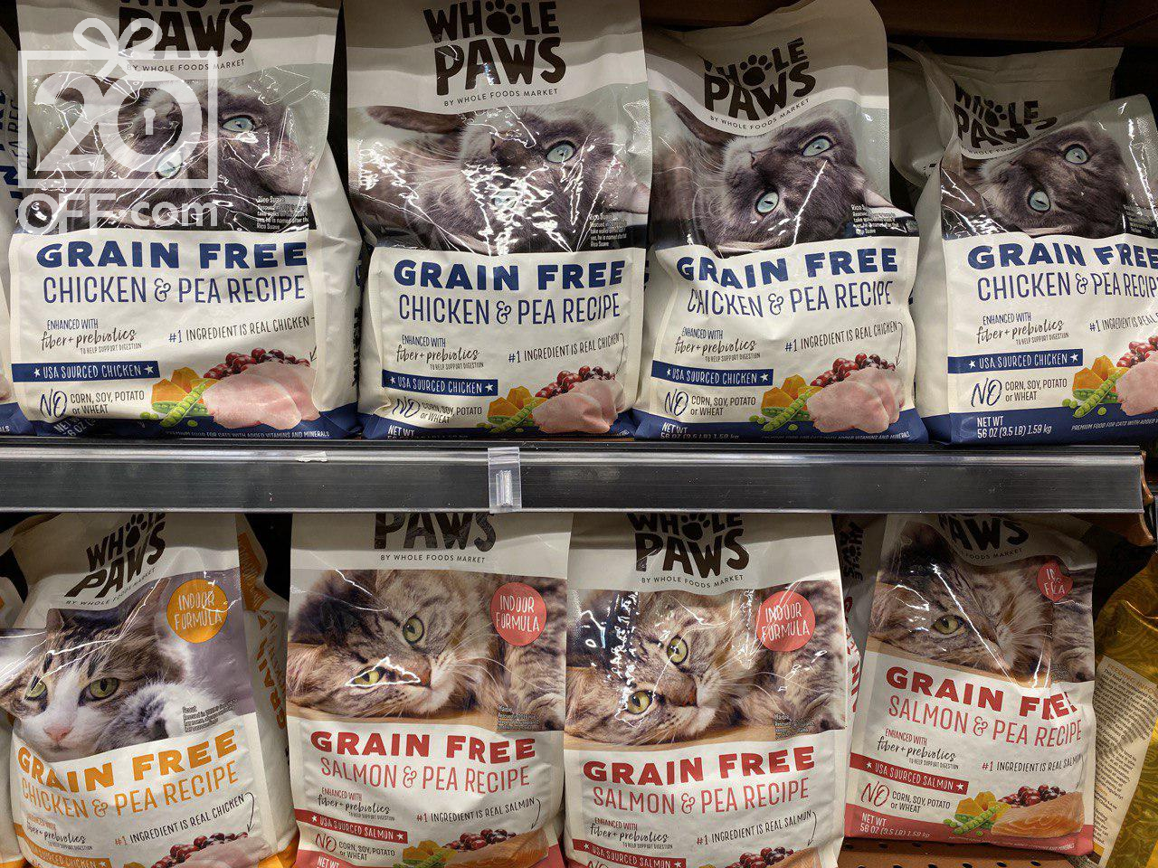 Whole Paws Cat Food