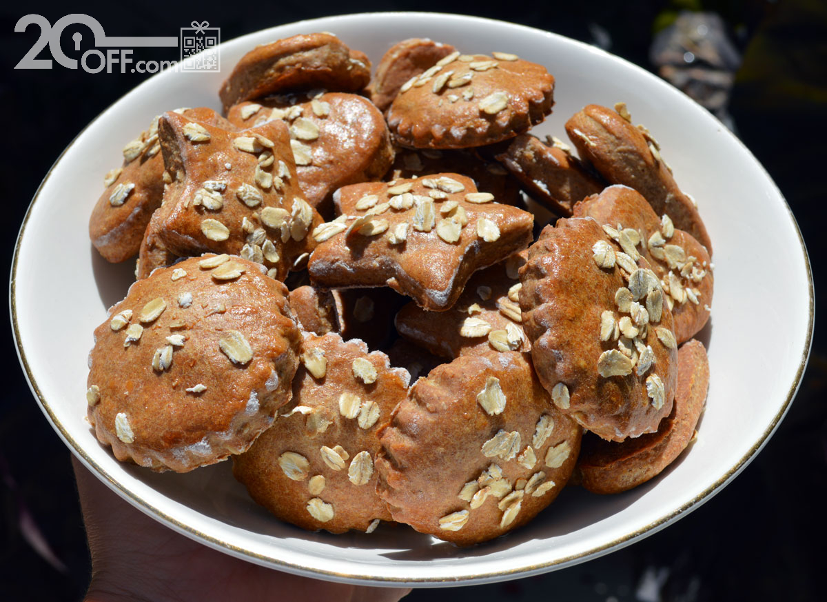 Whole Wheat Dog Cookies