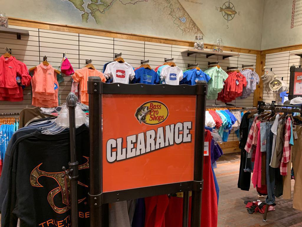 Bass Pro Shops Clearance Sale